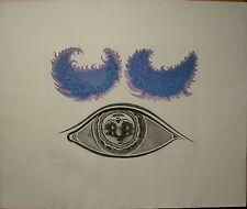 Wolfgang Hutter g. 1928 «Die Augen im Auge» 90/100/350