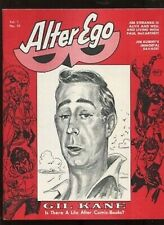 Alter Ego, Vol. 1 #10, 1969, Gil Kane Autographed,Wood, Kubert- VF+ 8.