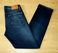 Tommy Hilfiger Ryan Men's Straight Fit Dark Blue Comfort Jeans Size W32 L32