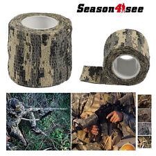 Camouflage Camo Tape 5cm x 4.5m Rifle Wrap Fabric Gun Hunting Stealth