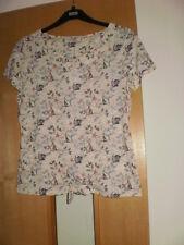 M & S Per Una T-shirt Taglia 10 NUOVO CON ETICHETTA
