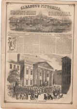 Gleason's Pictorial Drawing-Room Companion, 7/26, 1851, Vol. I, No. 13 Fireworks