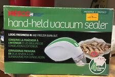 Nesco Handheld Vacuum Sealer and Food Storage Kit  VS-09HH 4 FREE Bags