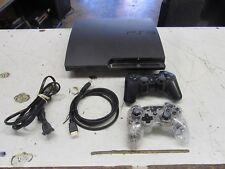 Sony PlayStation 3 Slim - PS3 - Console + STUFF    (lot 8036)