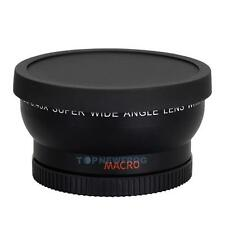 58mm 0.45X Wide Angle Macro Lens for Canon EOS 500D 1100D Rebel T1i T2i XT TN2F
