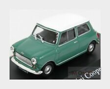 Austin Mini Cooper 1961 Green White EDICOLA 1:43 DOCHAP2891020
