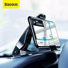 Baseus Car Phone GPS Holder Dashboard Mount Adjustable Clip Stand Universal