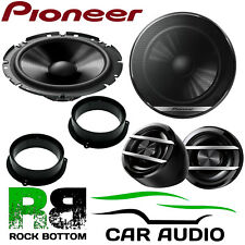 Pioneer AUDI A4 B8 2009 On 600W Component Kit Rear Door Car Speakers