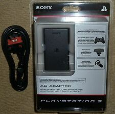 SONY PLAYSTATION 3 PS3 OFFICIAL AC ADAPTER USB CONTROLLER PAD CHARGER BRAND NEW!