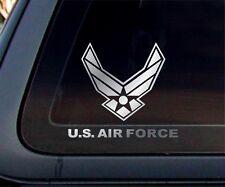 USAF : U.S. Air Force United States Car Decal / Sticker - Chrome