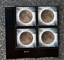 2017USA Forever - Total Eclipse of the Sun - Plate Block of 4  - Mint NH