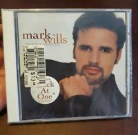 Permanently by Mark Wills - Back at One (BRAND NEW CD, Jan-2000) USA