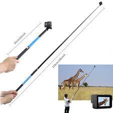 "106"" Super Long Selife Stick Handheld Monopod Pole for GoPro Hero 5 4 3+ Session"