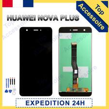 VITRE TACTILE + ECRAN LCD ORIGINAL PRET-A-MONTER POUR HUAWEI NOVA PLUS 2016 NOIR