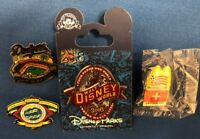 Walt Disney World Trading Pin, Dodgers, World Cup, other Pins (Lot of 4)