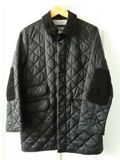 NICKELSON Size MB BOYS QUILTED BUCKLE COLLAR BLACK COAT JACKET