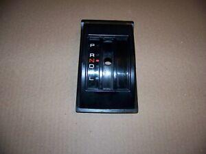 89-96-98 Geo Chevy Tracker Sidekick Center Console Automatic Shifter BEZEL PRNDL