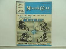 Sept 1960 The Motorcycle Magazine Matchless Triumph AJS BMW Ariel BSA L11732
