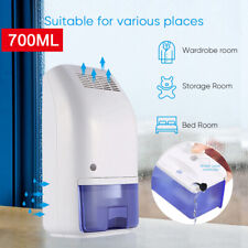 700ML Portable Electric Home Drying Moisture Absorber Air Room Dehumidifier NEW