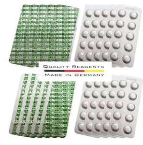 200 Tabletten Rapid Chlor DPD 1 + pH Wert Phenol Red für Wassertester Pooltester