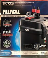Fluval 307 Performance Canister Filter - up to 70 US gallon Aquarium