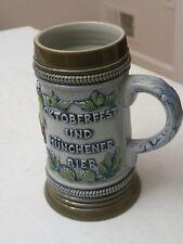 OKTOBERFEST Beer Stein KING ORIGINAL German Handmade Hand Painted 380 1/2 L