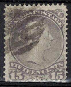 CANADA Scott 29 Used ## 1 cent start ##