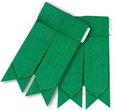 Highland Kilt Hose Sock Flashes Plain Green Color Green Kilt Hose Socks Flashes