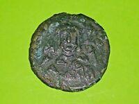 Nicephorus II Phocas 963 AD ancient BYZANTINE COIN rare overstrike error antique