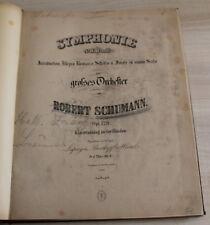SCHUMANN - Symphonie N°IV.D moll - Op.120