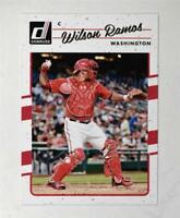2017 Donruss #174 Wilson Ramos - NM-MT