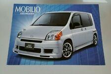2001 Honda Mobilio Mugen Performance Catalog Brochure