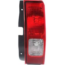 For Hummer H3 06-10, Passenger Side Tail Light, Clear and Red Lens