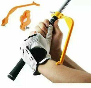 Golf Swing Trainer Swing Posture Corrector Alignment Training Aid ( Orange )club