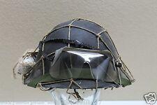 1953 British MKIV Turtle Shell Helmet chinstrap net bandage eyeshields Set E2600