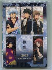 2013 planner organizer schedule book Gintama anime Kamui Takasugi Sakata Gintoki