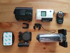 Sony HDR-AS200V mit Helmhalterung perfekt für Motorradfahrer Zubehörpaket