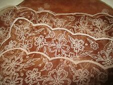 "#Vintage Brown Sheer Nylon Women's floral #Scarf #Babushka 26"" x 27"" #Fashion"