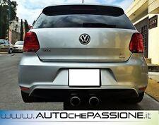 Sotto paraurti posteriore scarico centrale per VW Polo 6R GTI dal 2009>2014