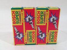 Four Bosch Super Spark Plugs F8DC