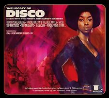 THE LEGACY OF DISCO - HARVEY MASON, TEDDY PENDERGRASS, JACKIE MOORE 3 CD NEU