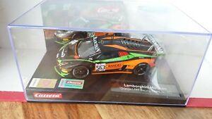 "Carrera Evo 27623 Lamborghini Huracan ""Orange FFF Racing Team"" 1/32 Slot Car NEW"