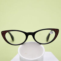 Womens Vintage Reading Glasses Cat Eye Sexy Readers 1.0 1.5 2.0 2.5 3.0  IFA715