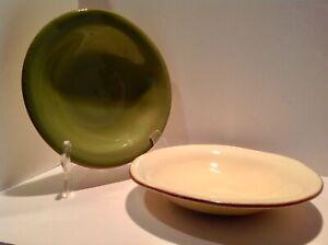 "(2) Vietri CUCINA FRESCA 8.75"" Bowls Pasta Soup Salad Dessert"