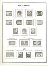 Un- New York & Geneva- Liberty Album Illustrated Pages to the Late 1980s- Unused