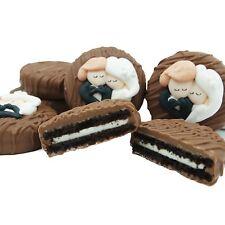 Philadelphia Candies Wedding Bride Groom Heart Milk Chocolate OREO® Cookies Gift