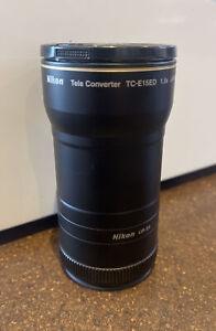 Nikon Genuine TC-E15ED 1.5x Tele Converter & UR-E8 Adaptor - No Reserve
