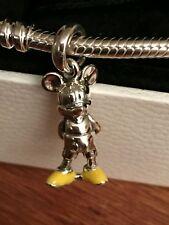 pandora classic Mickey mouse pendant charm