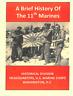 WW I WW II 11th Marine Regiment Guadalcanal Peleliu Okinawa History Book