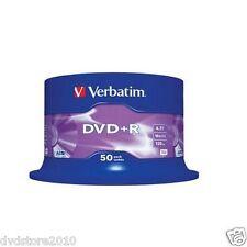 Verbatim DVD +R Matt Silver 4.7GB 16X Spindle Matt Silver 43550